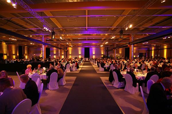 Industrie Gala und große Feste